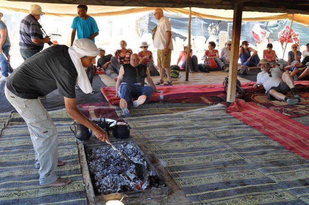 באוהל של סלמאן בכפר הנסתר