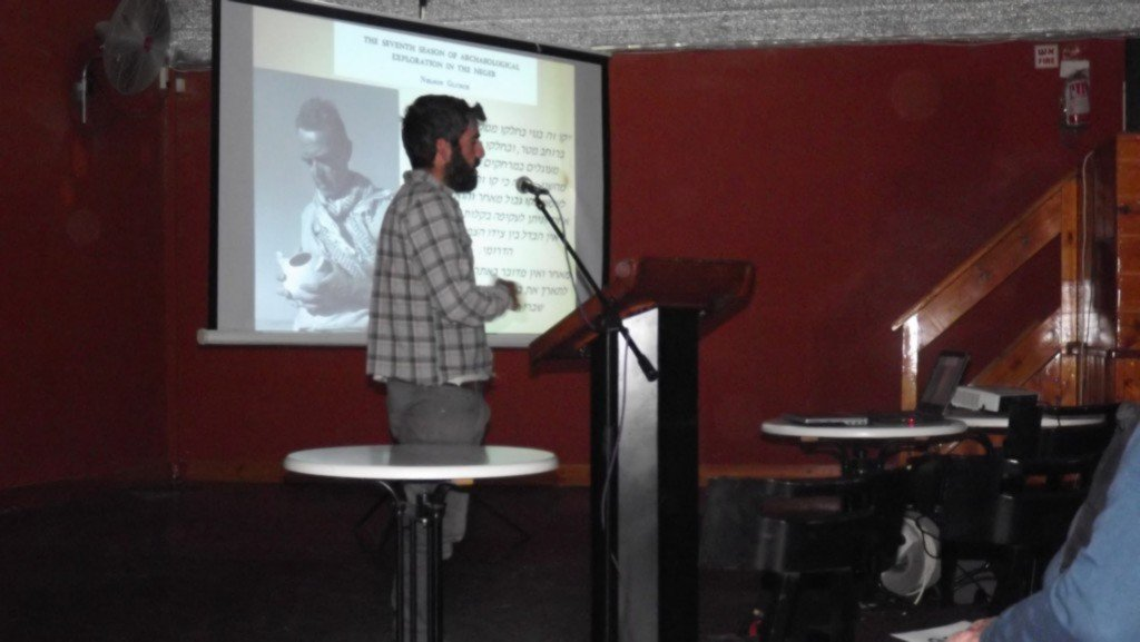 הרצאות חוקרים במצפה רמון - צילמה: אפרת קדם-סילברט