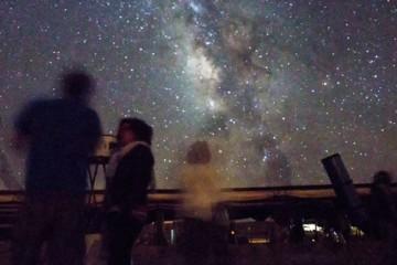 גשם של כוכבים במצפה רמון – מטר מטאורים, פרסאידים 2017