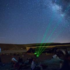 תצפית כוכבים – מטר מטאורים חורפי במצפה רמון