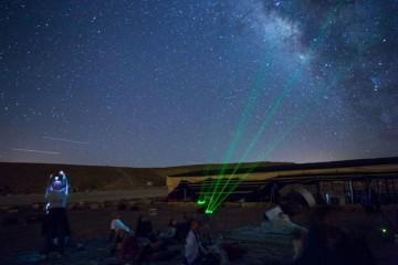 תצפית כוכבים מטר מטאורים (הג'מינידים) במצפה רמון