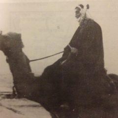 מסע ה-14 ממסעות הראשונים בנגב – שמעון פרס